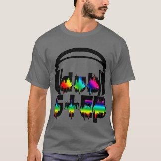 Camiseta Auriculares de Dubstep