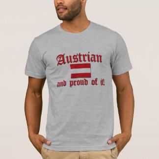 Camiseta Austriaco orgulloso