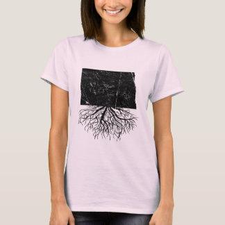 Camiseta auténtica de las raíces de Dakota del