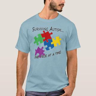 Camiseta Autismo de la supervivencia