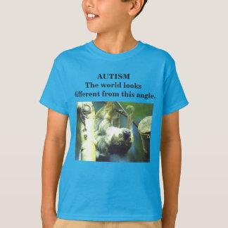 Camiseta Autismo - las miradas del mundo diferentes de este
