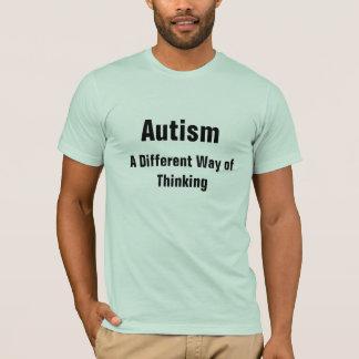 Camiseta Autismo una manera diferente de pensamiento