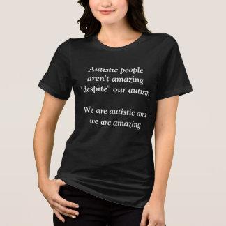 Camiseta Autístico es asombroso