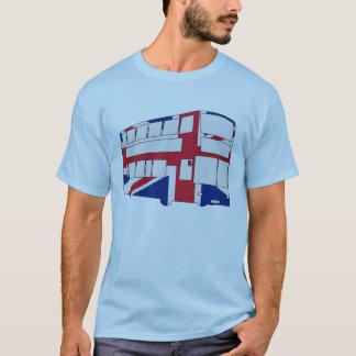 Camiseta Autobús de Londres con Union Jack