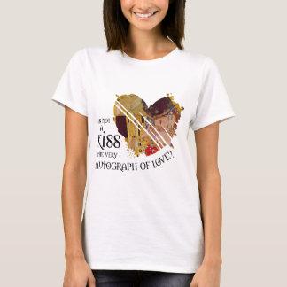 Camiseta Autógrafo del amor