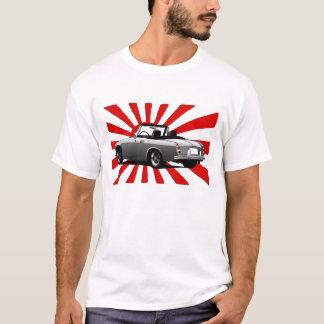 Camiseta Automóvil-bandera del color
