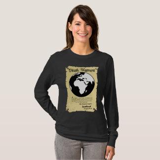 Camiseta Autorización de la muerte de la tierra firmada por