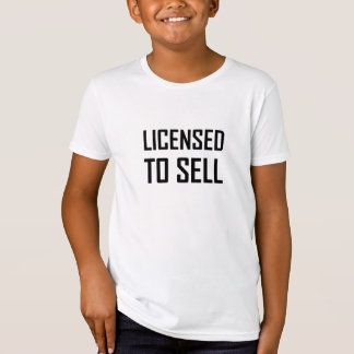Camiseta Autorizado para vender