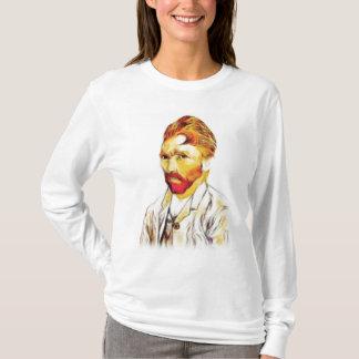 Camiseta Autorretrato de Van Gogh - el pelo hace