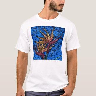 Camiseta Ave del paraíso del batik