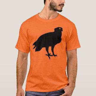 Camiseta Ave rapaz negra de Osprey que le da el ojo del