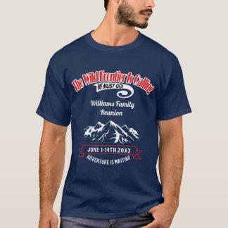 Camiseta Aventura de Alaska de la travesía de la reunión de