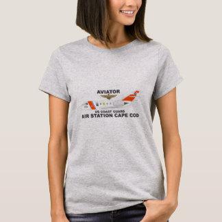 Camiseta Aviador de Cape Cod de la estación aérea de USCG