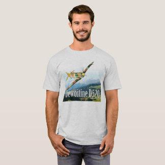 "Camiseta Aviation Art T-shirt ""Dewoitine D.520"""