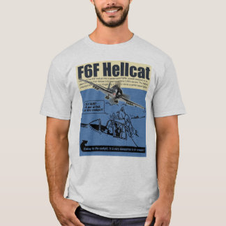 "Camiseta Aviation Art T-shirt ""F6F Hellcat"""