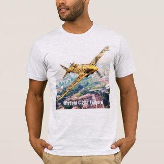 "Camiseta Aviation Art T-shirt ""Macchi C.202 Folgore"""