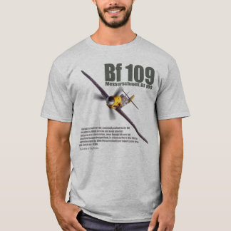 """Camiseta Aviation Art T-shirt """"Messerschmitt Bf 109"""""""