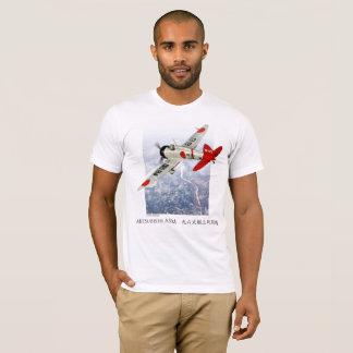 "Camiseta Aviation Art T-shirt ""Mitsubishi A5M Claude"""
