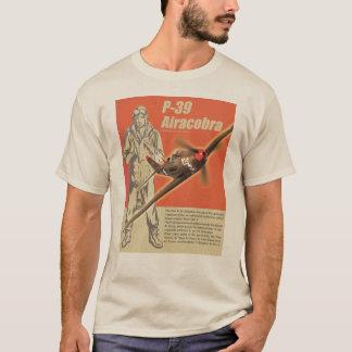 "Camiseta Aviation Art T-shirt ""P-39 Airacobra"""