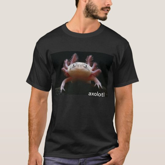 Camiseta axolotl del axolotl del axolotl