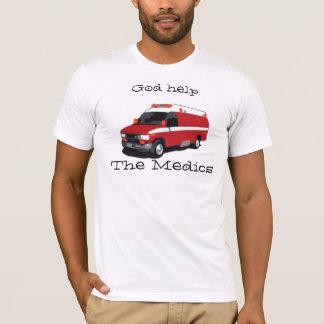 Camiseta Ayuda de dios los médicos