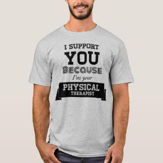 Camiseta Ayuda del terapeuta físico