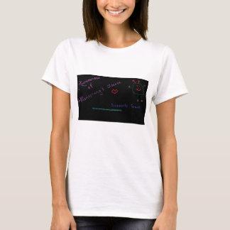 Camiseta Ayuda y conciencia de la enfermedad de