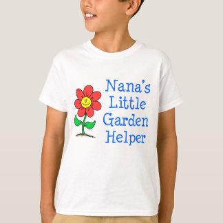 Camiseta Ayudante del jardín de Nana