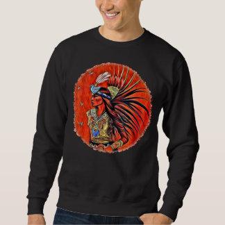 Camiseta azteca del nativo americano del bailarín