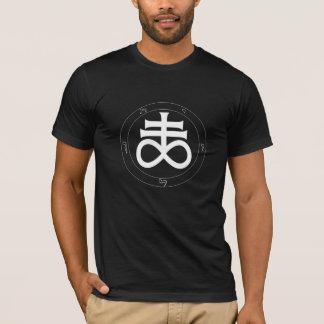 Camiseta Azufre/azufre alquímicos, cruz satánica