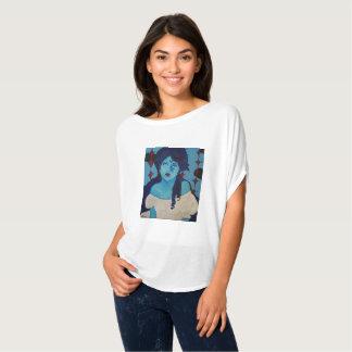 Camiseta Azul de Evelyn