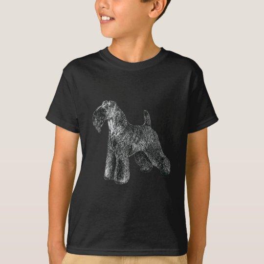 Camiseta Azul de Kerry Terrier