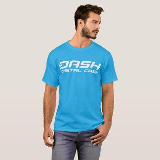 Camiseta azul de la aguamarina clásica de la