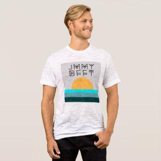 Camiseta azul de la puesta del sol de JMMY BFFT