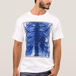 Camiseta Azul de la radiografía