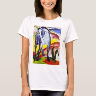 Camiseta azul del caballo de Franz Marc