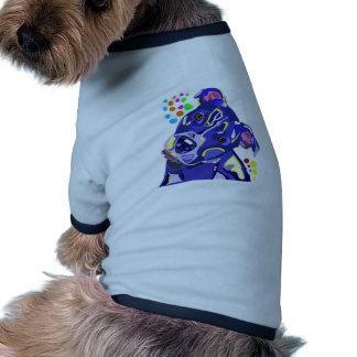Camiseta azul del campanero del perrito de Terrier Camisa De Mascota