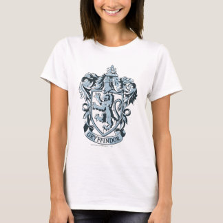 Camiseta Azul del escudo de Gryffindor