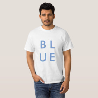Camiseta AZUL - diseño clásico
