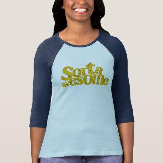 Camiseta Azul-en-Azul del raglán