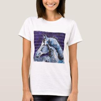 Camiseta Azul, Logan Blue Line cuadrado