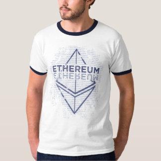 Camiseta Azul original del Grunge de Ethereum
