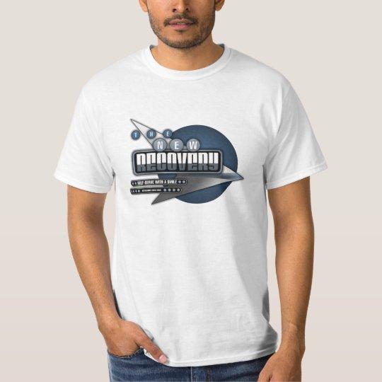 Camiseta (azul) retra del espacio de TNR