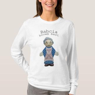 Camiseta Babcia sabe mejor