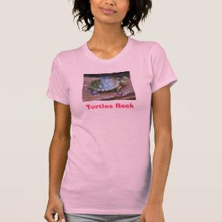 Camiseta babyslider, roca de las tortugas