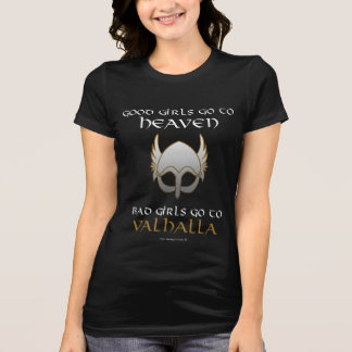 Camiseta Bad Girls Go to Valhalla