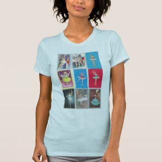 Camiseta bailarina de prima