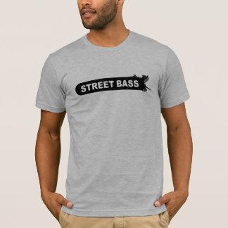 Camiseta baja del logotipo de la calle