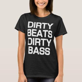 Camiseta baja sucia de Dubstep de los golpes