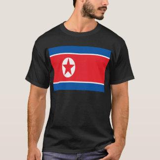 Camiseta ¡Bajo costo! Bandera de Corea del Norte